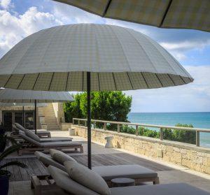 Lower terrace sun deck